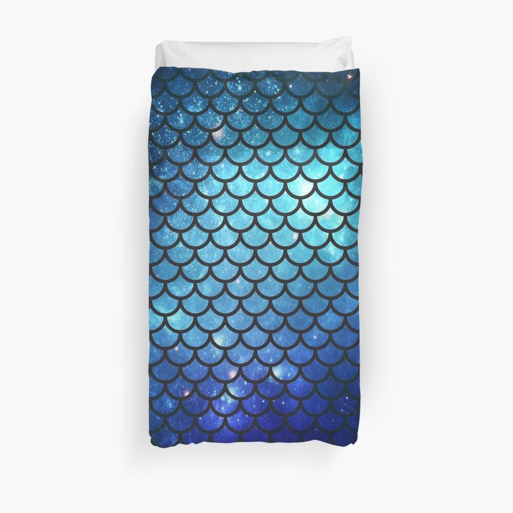 Mermaid Tail Duvet Cover
