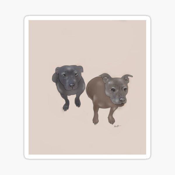 Jess pups Sticker