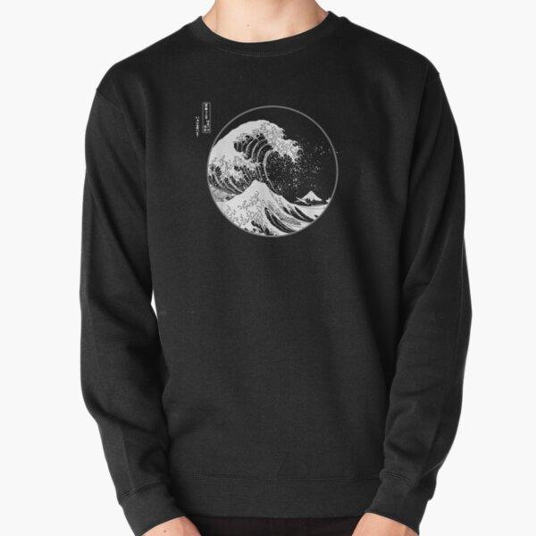 La grande vague au large de Kanagawa Hokusai Art japonais Sweatshirt épais