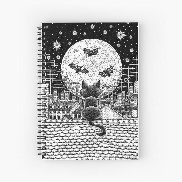 Nachthimmel Spiralblock