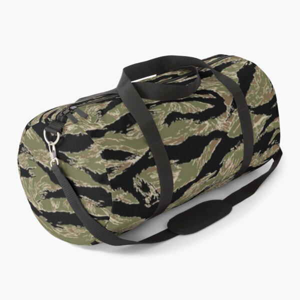 US Army Camouflage Tiger Stripe Duffle Bag