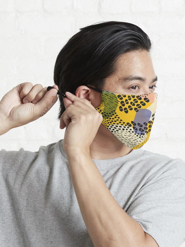 Alternate view of Piña Colada Mask
