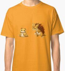 Pokemon Sandshrew Evolution Classic T-Shirt