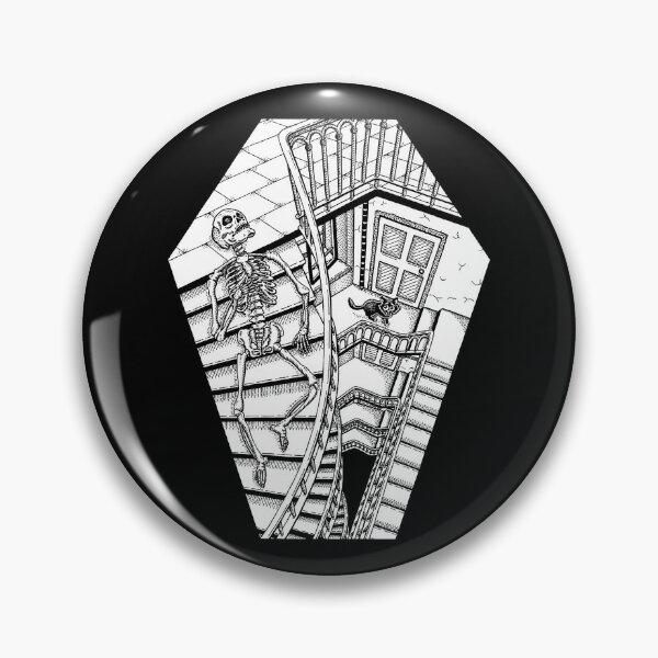 Tote Treppe Button