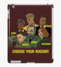 Choose your Russian  iPad Case/Skin