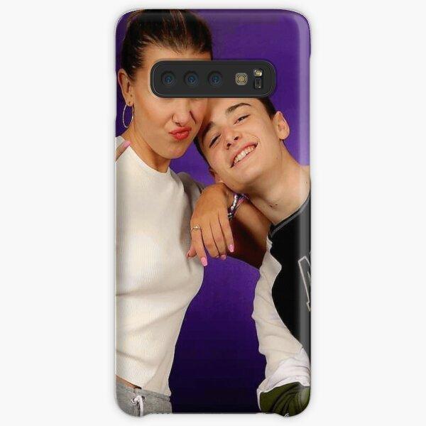 Millie Bobby Brown and Noah Schnapp Samsung Galaxy Snap Case