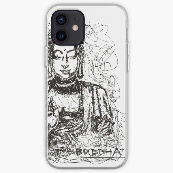 Conceptual Buddha iPhone Soft Case