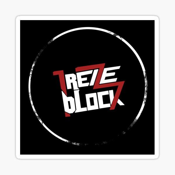13 Block Sticker