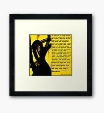 The Stranger Framed Print