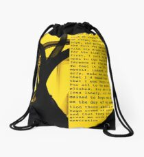 The Stranger Drawstring Bag