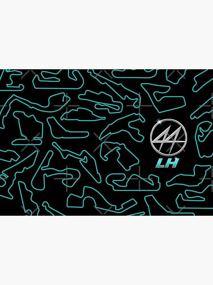 LH 44 Chromed Logo - Circuits Pattern by RicardoGomes