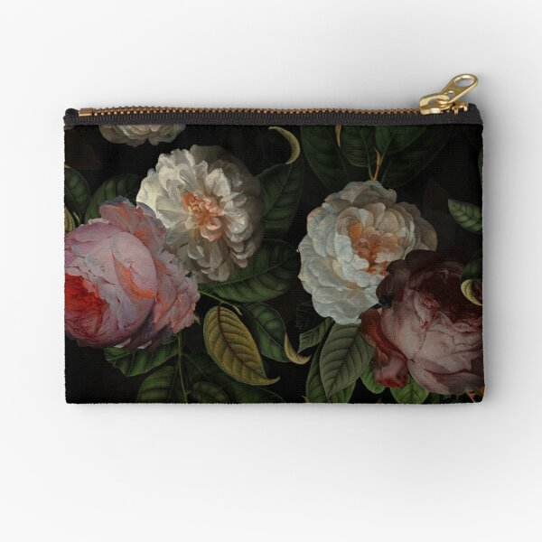 Black Jan Davidsz. de Heem Vintage Roses Fleurs Jardin botanique Pochette