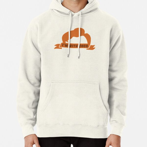 Im With Coco   Conan O'Brien Pullover Hoodie