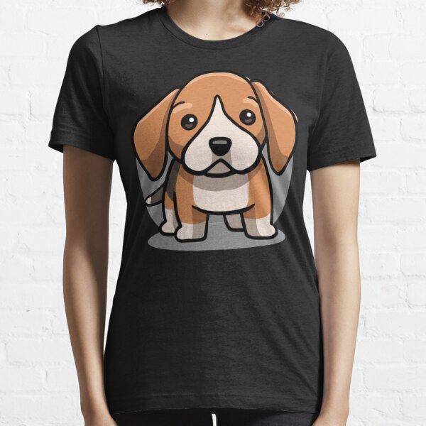 Cute Kawaii Beagle Chibi Dog Lover Gift Idea Essential T-Shirt