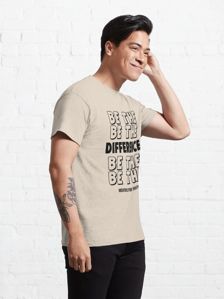 Alternate view of Be the difference. Classic T-Shirt