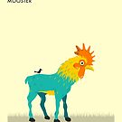 M is for MOOSTER by JazzberryBlue