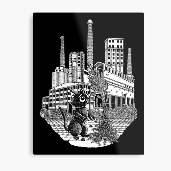 Old Factory Metal Print