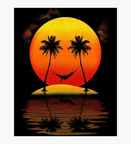 Sweet Smile of Sunset Photographic Print