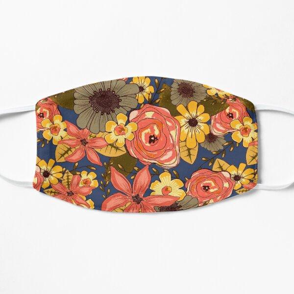 Floral Bouquet Flat Mask