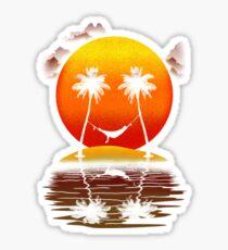 Sweet Smile of Sunset Sticker