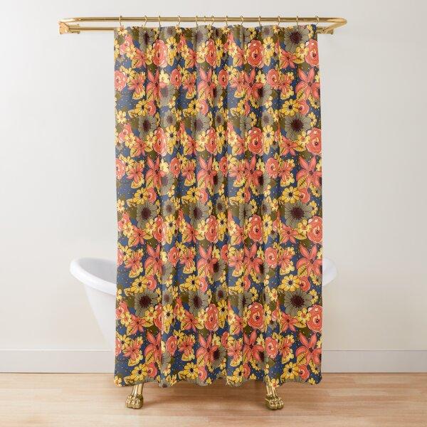 Floral Bouquet Shower Curtain