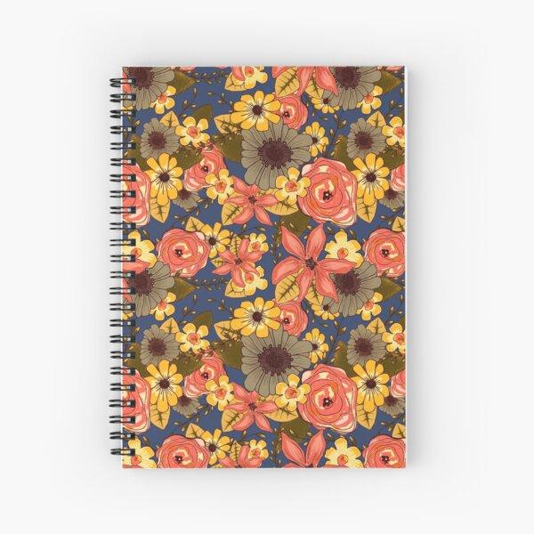 Floral Bouquet Spiral Notebook