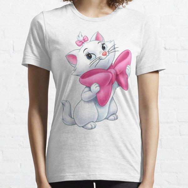 Girls Marie Cat Cartoon Tee Aristocats Kittens Gift Sweatshirt Women