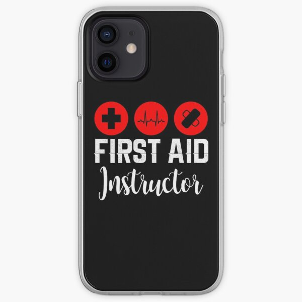 First Aid Instructor iPhone Soft Case
