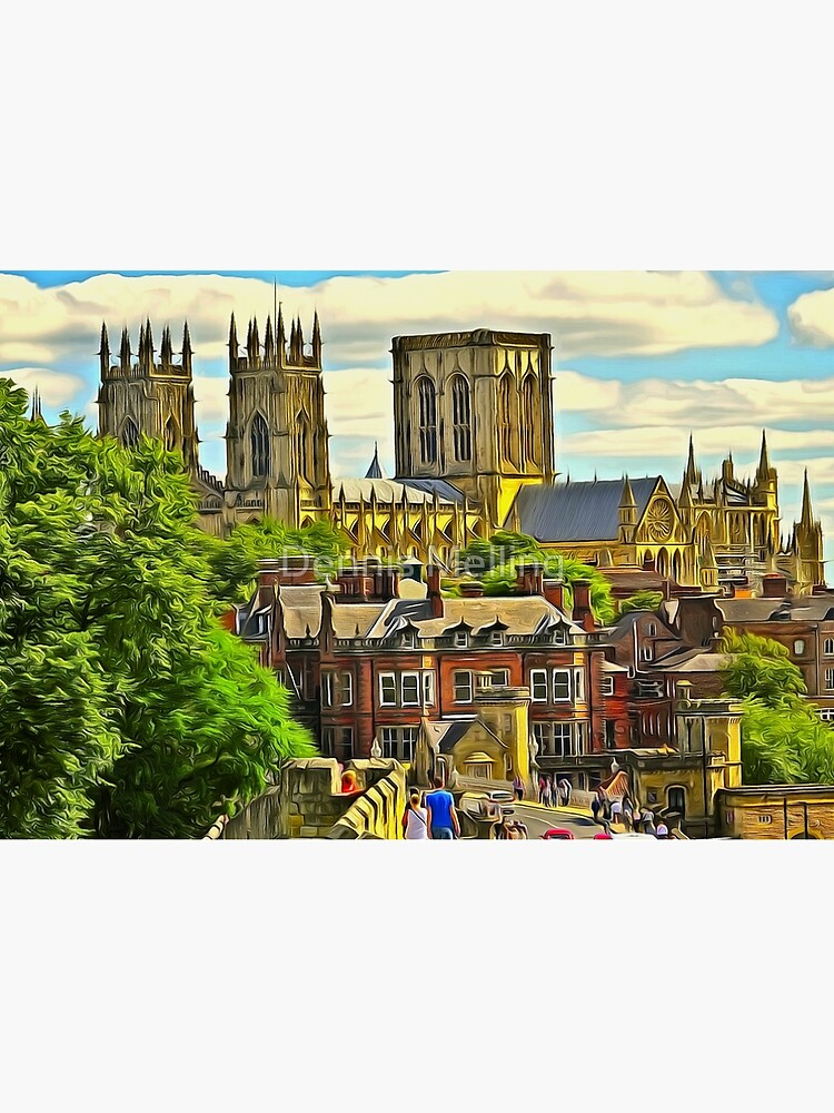 York Minster, the Cathedral of Saint Peter in York, England, founded 627 CE (1) by ZipaC