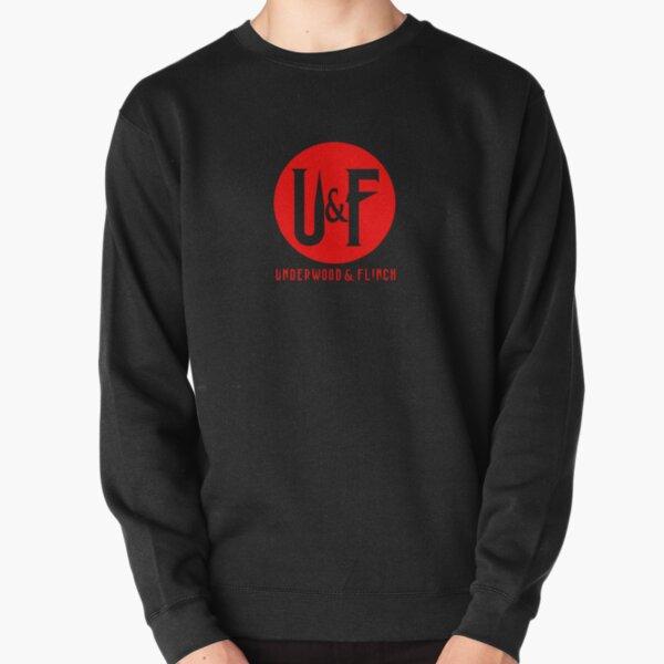 UF Original Logo Red Pullover Sweatshirt