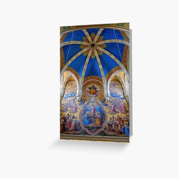 Carmelite Church, Vienna Austria Greeting Card
