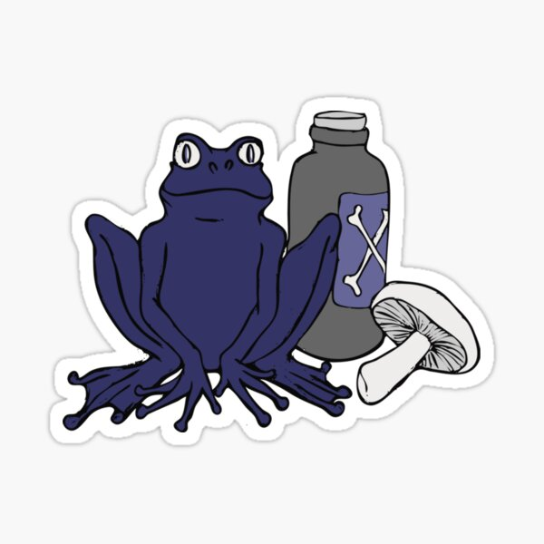 Potions Frog  Sticker