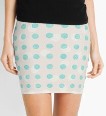 Striped circles Mini Skirt