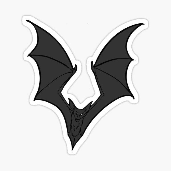 Bat Familiar Sticker
