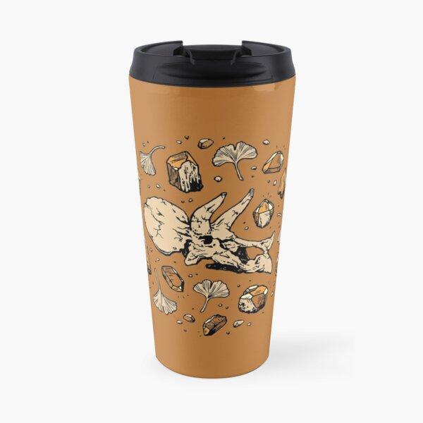 Triceratops Rocks! | Citrine Quartz Travel Mug
