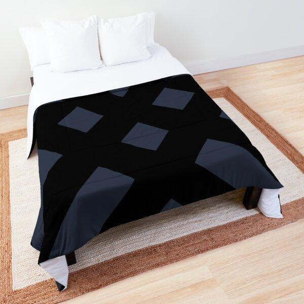 Dijagonala v.2 (Black/Blue) Comforter