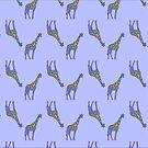 Giraffe dessin by Wilfried van Dokkumburg