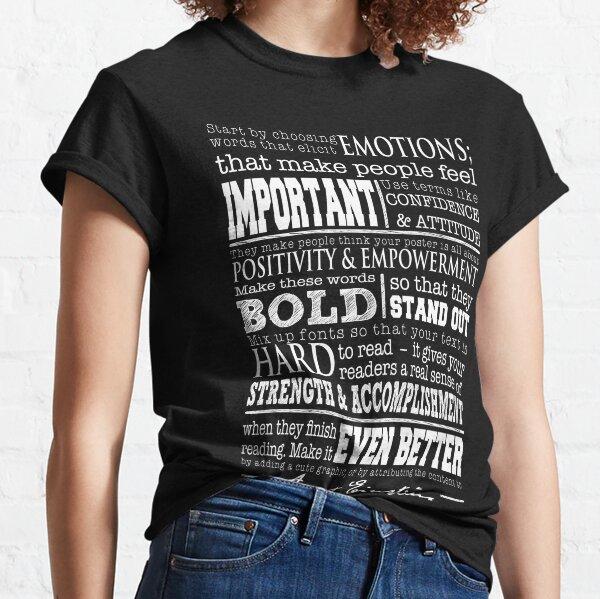Inspiring (Dark) Classic T-Shirt