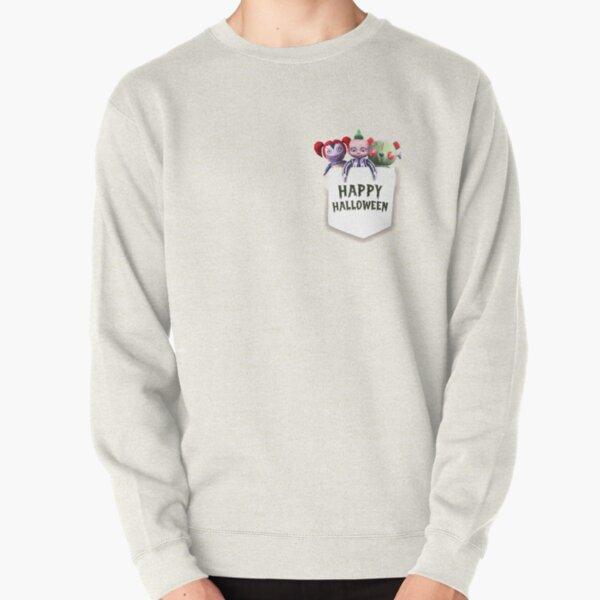 Fun Size Dead Dolls White Pocket Pullover Sweatshirt