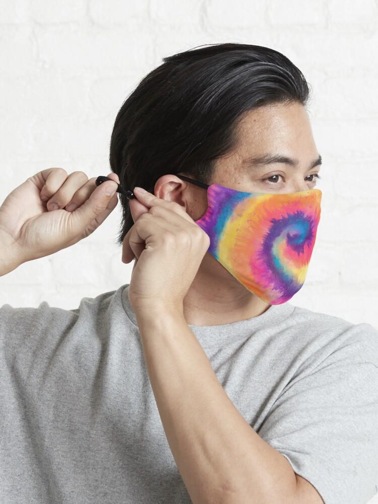 Alternate view of Tie Dye Mask