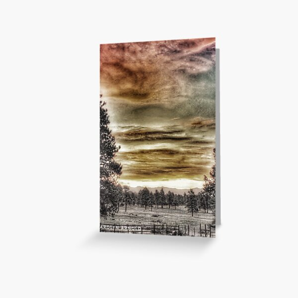 Colorado landscape Greeting Card