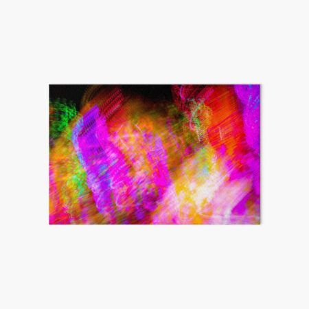 Neon Clusterfuck Art Board Print
