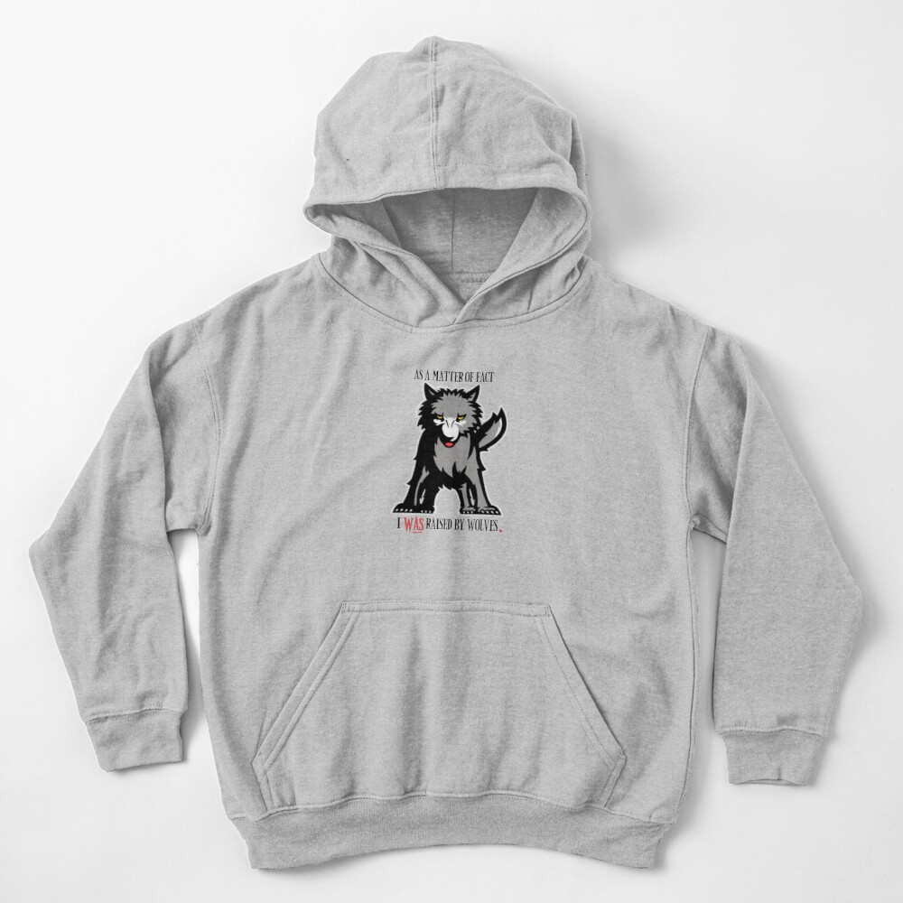 As a matter of fact  Kids Pullover Hoodie