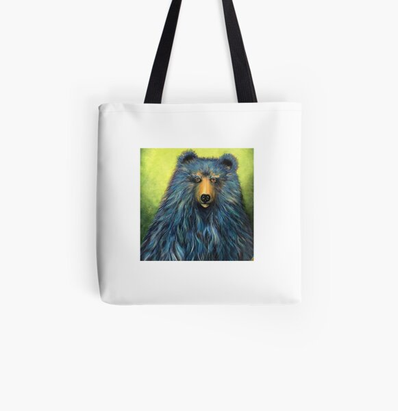 Boris The Blue All Over Print Tote Bag