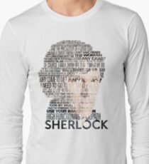 Sherlock Quotes Long Sleeve T-Shirt