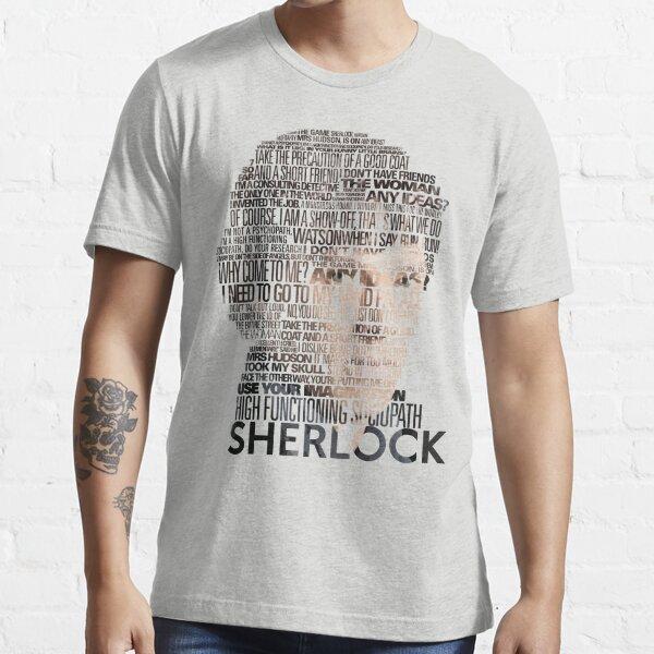 Sherlock Quotes Essential T-Shirt