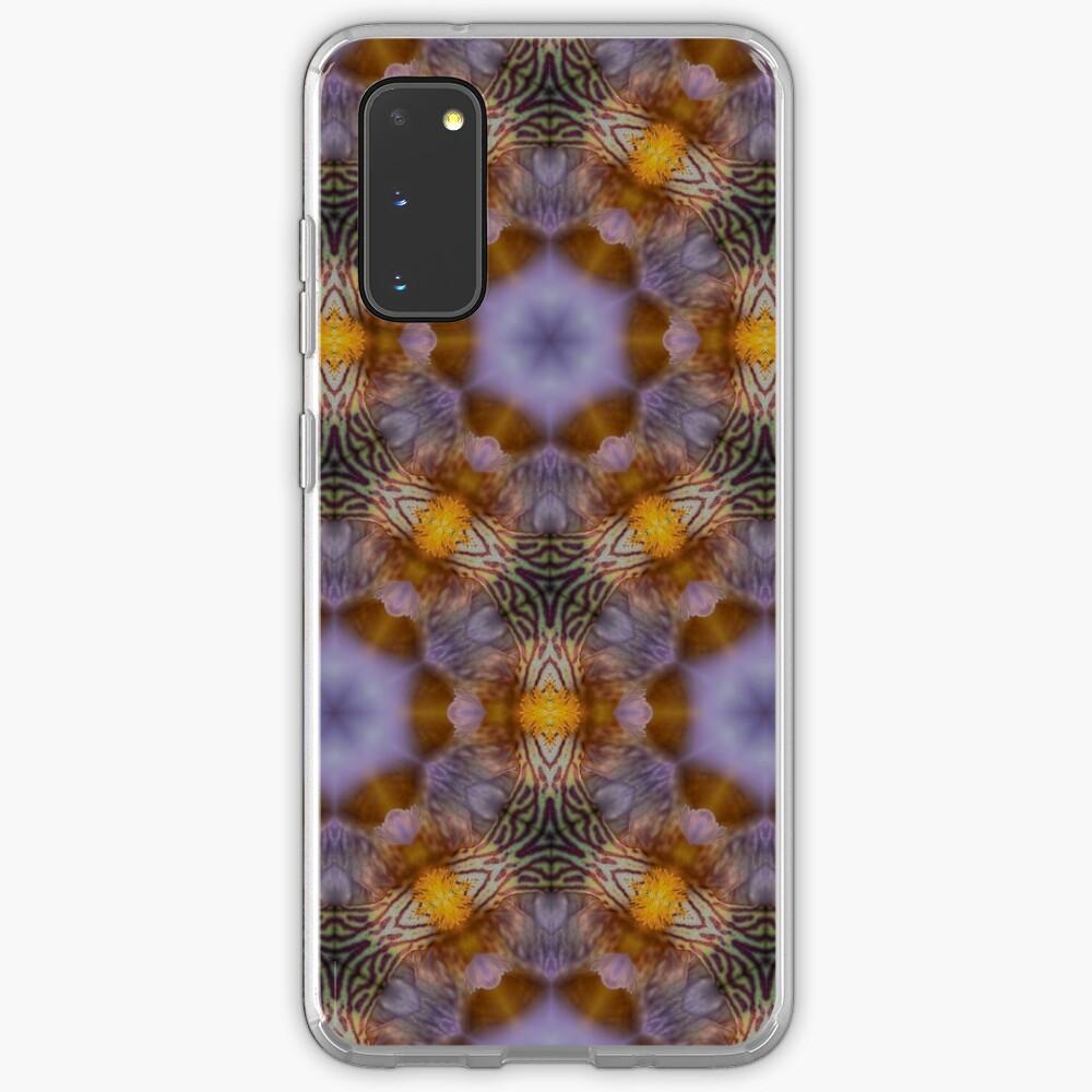 Flower  kaleidoscope Case & Skin for Samsung Galaxy
