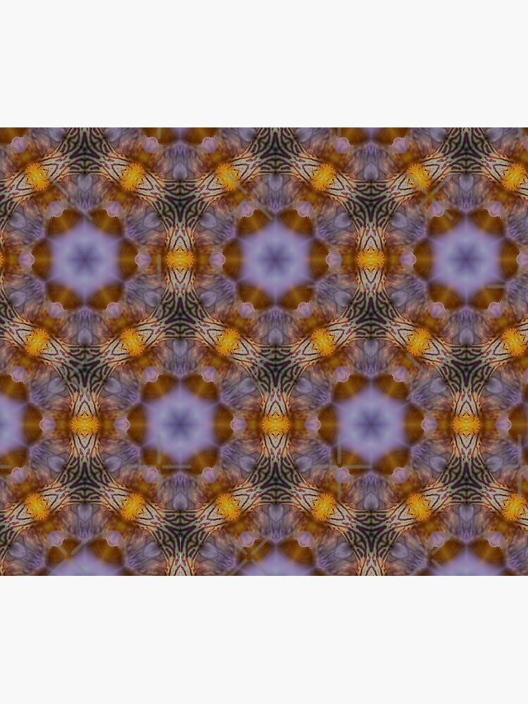 Flower  kaleidoscope by WendyLeyten