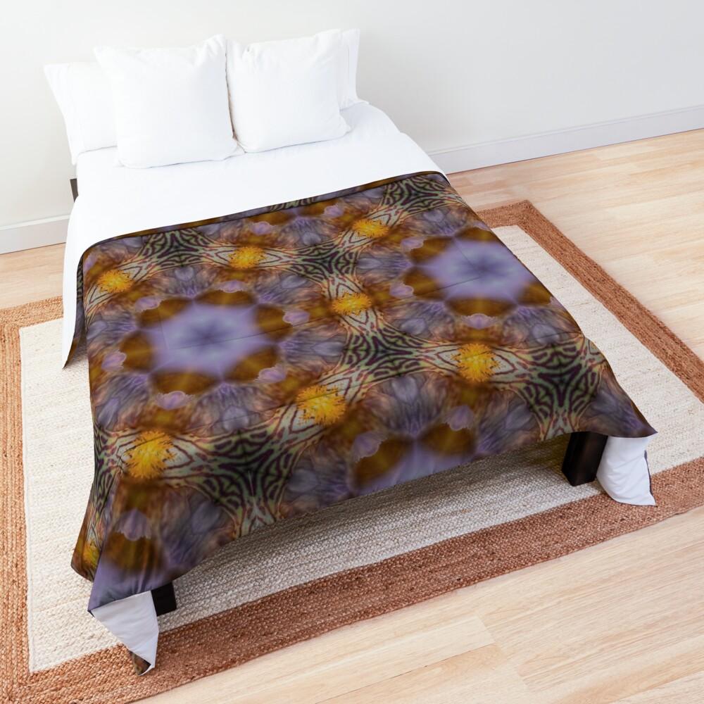 Flower  kaleidoscope Comforter