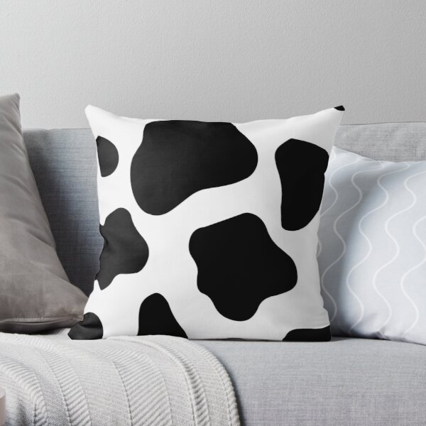 Cow Spots pattern Cows Animal print  Throw Pillow
